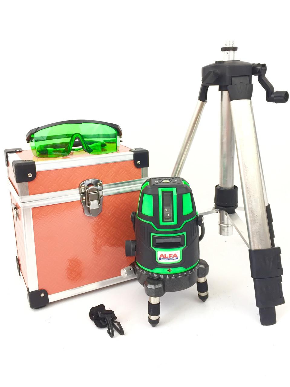 Лазерний рівень нівелір AL-FA 50 метрів 5 ліній (ALNL02)