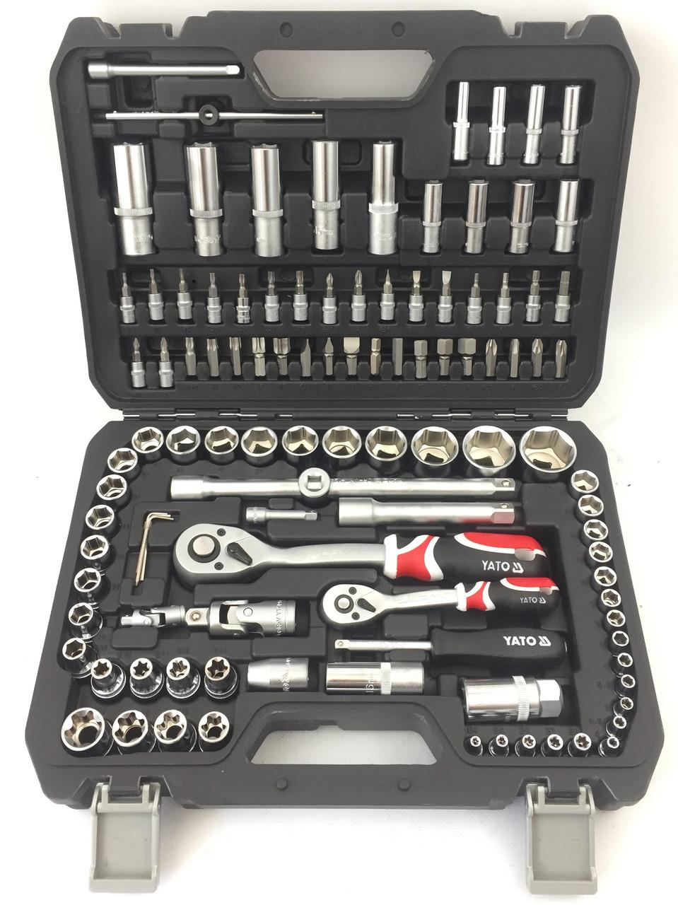 Профессиональный набор инструментов YATO 108 шт.