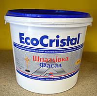 Водно- акриловая фасадная  шпаклевка  ИР-21 EcoCristal Ирком ( 7,5 кг)