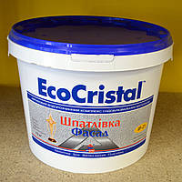 Водно- акриловая фасадная  шпаклевка  ИР-21 EcoCristal Ирком ( 15 кг), фото 1