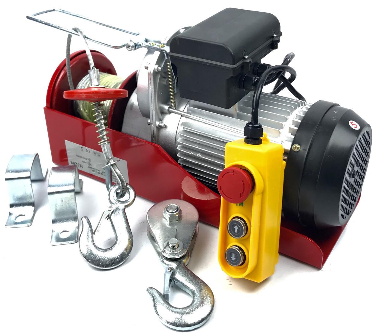 Тельфер, лебідка електрична Euro Craft 500/1000 кг (HJ208)