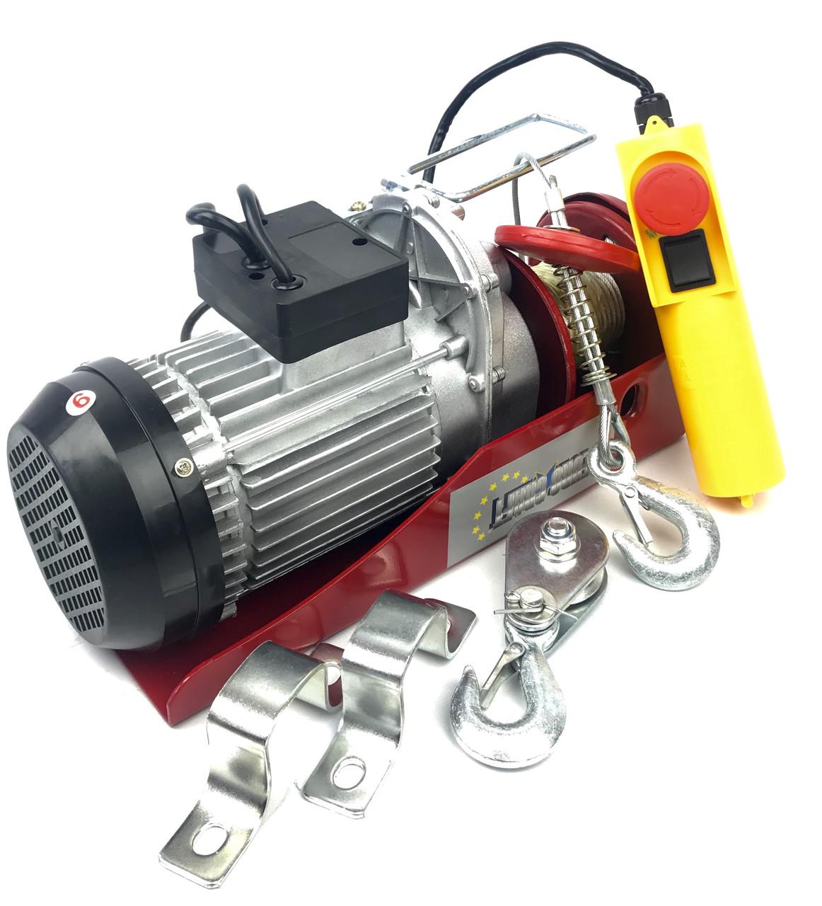 Тельфер електричний Euro Craft 250/500 кг (HJ203)