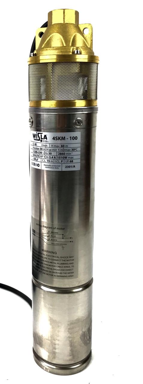 Занурювальний глибинний насос для свердловин Wisla 4SKM-100