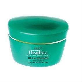 DEAD SEA COSMETICS Крем для лица ночной - Для сухой и чувствительной кожи, 45 мл