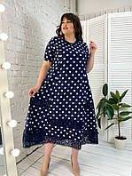 Платье большого размера Колокольчик р. 54-72, фото 1