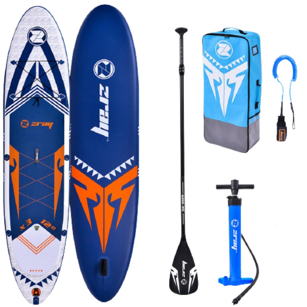 "Сапборд ZRAY DUAL DELIXE D2 10'8"" 2021 - надувная доска для САП сёрфинга, sup board"