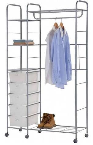 Стійка для одягу(з шухлядами) W-68 ( CH-4617), фото 2