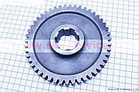 КПП - Шестерня полуоси (6 шлицов) 81-1 Z=47 на мотоблок с двигателем  175N / 180N