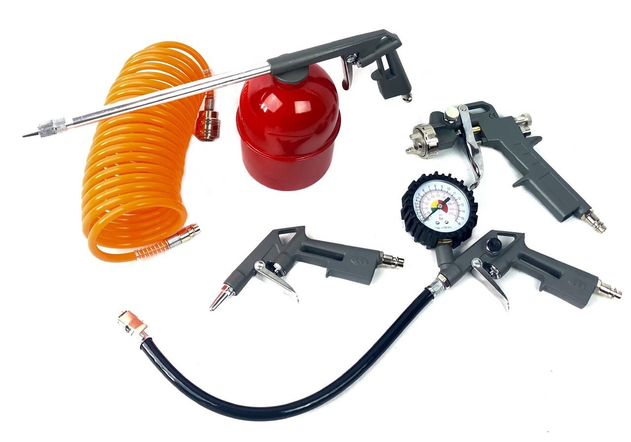 Набор пневмоинструмента Euro Craft (ECATK5)