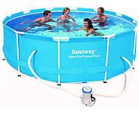 Bestway 56260, каркасный бассейн 366 x 100 см Steel Pro Frame Pool