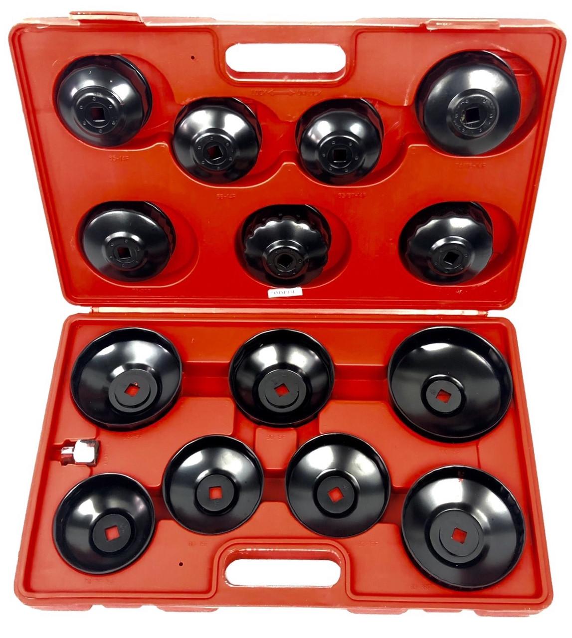 Набір знімачів масляних фільтрів LEX 15 од. (LXOS23)