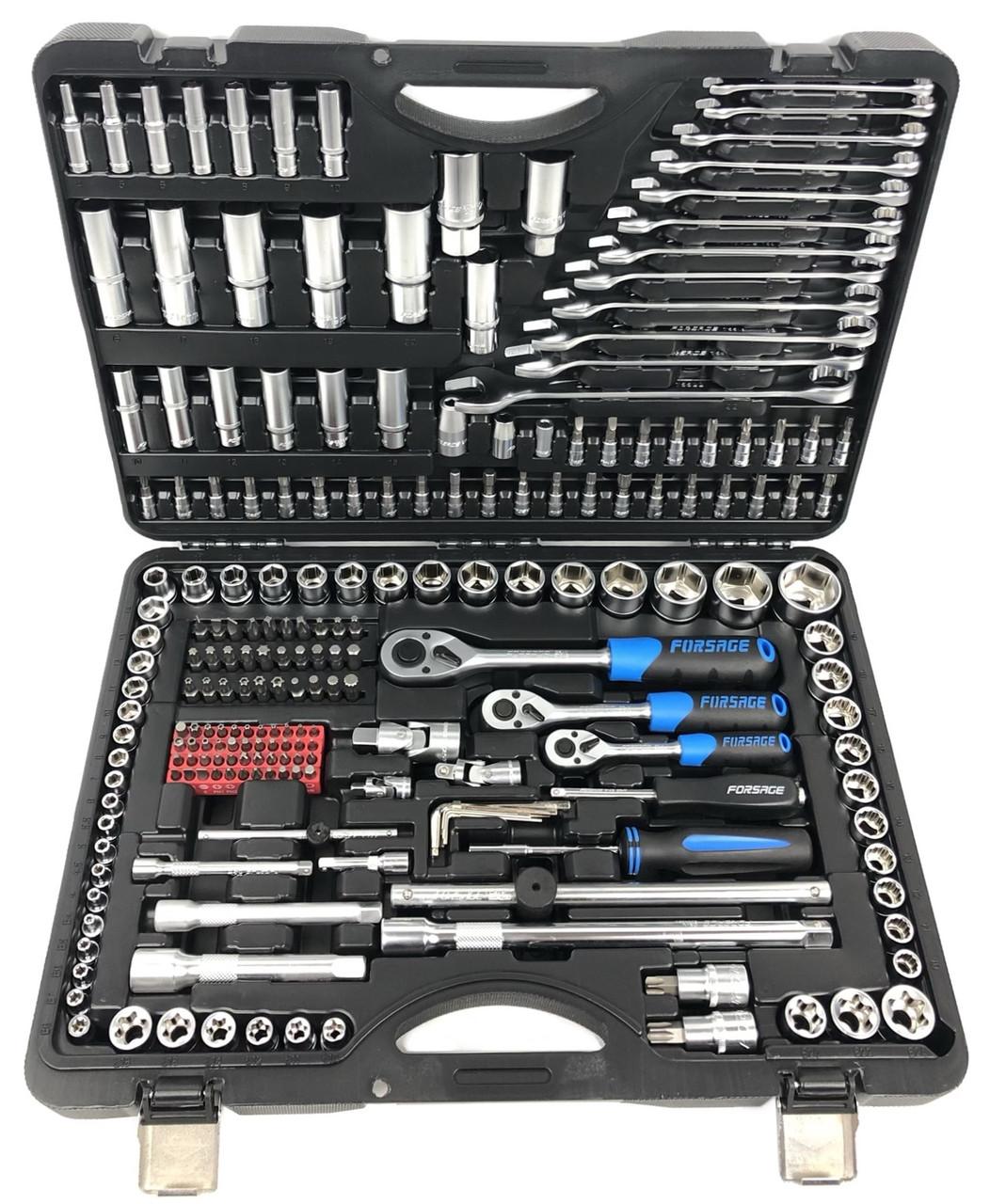 Профессиональный набор инструментов Forsage 216 шт. (F-38841)