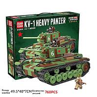 Танк КВ-1, военный конструктор, аналог Лего