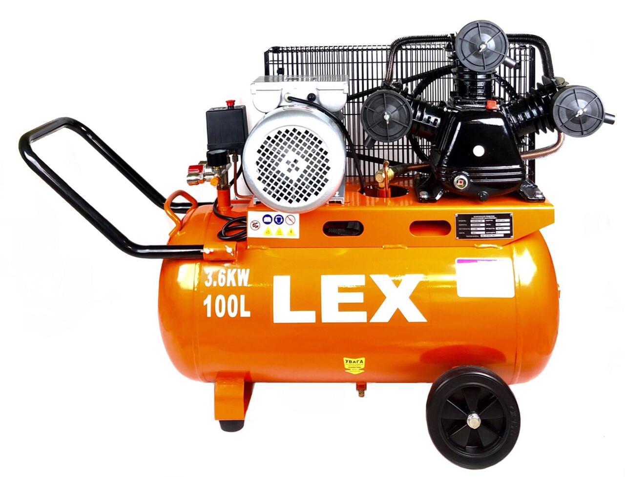 Компресор LEX LXAC365-100