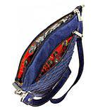 Джинсовая сумочка Голубая фантазия, фото 2