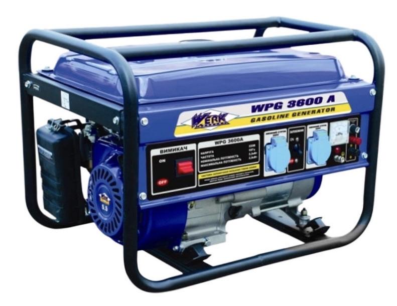 Генератор бензиновий Werk WPG 3600