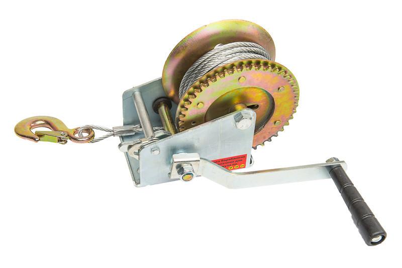 Лебедка ручная барабанная 450 кг INTERTOOL GT1454