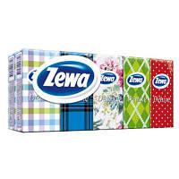 Носовые платки Zewa Style 3 слоя 10 шт х 10 пачек (7322540043440)