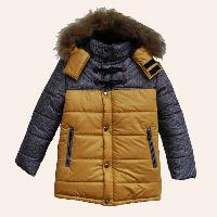 зимняя куртка для мальчика с капюшоном