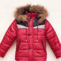 зимняя куртка с капюшоном для ребенка