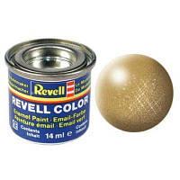 Аксессуары для сборных моделей Revell Краска эмалевая 94. Золото металлик. 14 мл (RVL-32194)