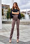 """Брюки женские брендовые Jadone Fashion """"Дора"""" деловые (2 цвета, р.S-XL), фото 4"""