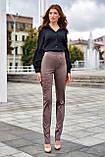 """Брюки женские брендовые Jadone Fashion """"Дора"""" деловые (2 цвета, р.S-XL), фото 3"""