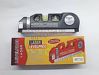 Лазерний рівень Fixit Laser Level Pro PR0 3 з вбудованою рулеткою, фото 1