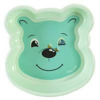 Набор детской посуды Baby Team Тарелка Любимые зверушки (6011_медвежонок)