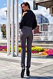 """Брюки женские брендовые Jadone Fashion """"Дора"""" деловые (2 цвета, р.S-XL), фото 10"""