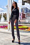"""Брюки женские брендовые Jadone Fashion """"Дора"""" деловые (2 цвета, р.S-XL), фото 8"""