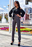 """Брюки женские брендовые Jadone Fashion """"Дора"""" деловые (2 цвета, р.S-XL), фото 9"""