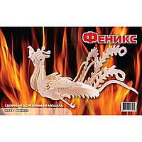 Сборная модель Мир деревянных игрушек Феникс (М033)