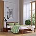 Кровать деревянная двуспальная Рената Люкс (бук), фото 2