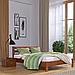 Кровать деревянная двуспальная Рената Люкс (бук), фото 3