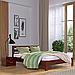 Кровать деревянная двуспальная Рената Люкс (бук), фото 4