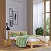 Кровать деревянная двуспальная Рената Люкс (бук), фото 7