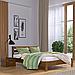 Кровать деревянная двуспальная Рената Люкс (бук), фото 8