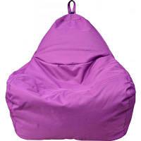 Пуф ПРИМТЕКС ПЛЮС кресло-груша Simba OX-339 S Purple (Simba OX-339 S Purple)