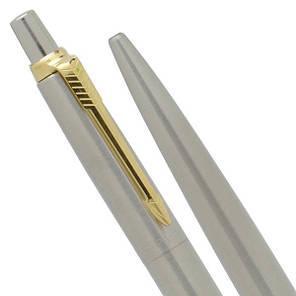 Шариковая ручка Parker JOTTER STAINLESS STEEL GT, фото 2