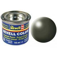 Аксессуары для сборных моделей Revell Краска № 361 Оливково-зеленая шелково-матовая,14 мл (RVL-32361)