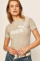 Футболка женская Puma, серая пума, фото 1