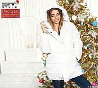 Женская стеганая зимняя куртка