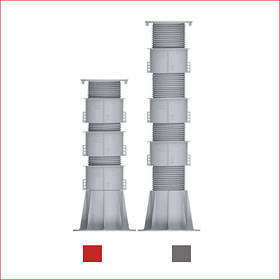 Регулируемая опора (471-651 мм) Karoapp К-А4 + 3шт. K-CL (K-A8)