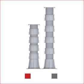 Регулируемая опора (576-795 мм) Karoapp К-А4 + 4шт. K-CL (K-A9)