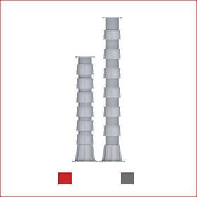 Регулируемая опора (786-1083 мм) Karoapp К-А4 + 6шт. K-CL (K-A11)