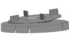 Корректор уклона под плитку Karoapp до 7° (K-RSC3)