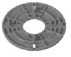 Фіксована опора 7 мм (K-7 FIXED STACKABLE)