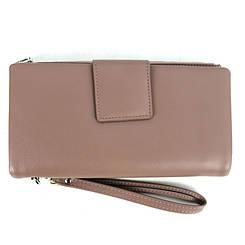 Практичний жіночий гаманець-клатч з штучної шкіри на блискавці червоного кольору Розміри: 20х11х2