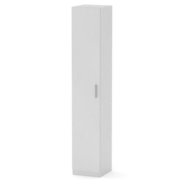 Шкаф книжный КШ-8 белый Компанит (35х37х195 см), фото 1